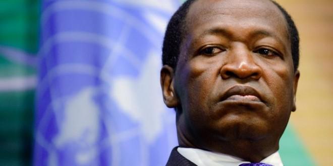 Blaise Compaoré est resté 27 ans à la tête du Burkina Faso. © AFP PHOTO / FABRICE COFFRINI