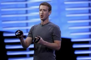 Pour Marc Zuckerberg, patron de Facebook, l'accès à Internet doit être inscrit dans les droits humains. REUTERS/Stephen Lam