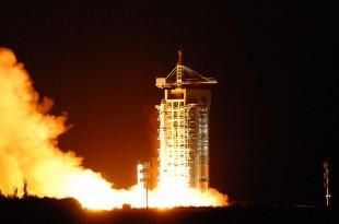 Lancement du satellite Mozi dans la province chinoise de Gansu (nord-ouest), le 16 août 2016 afp.com/STR