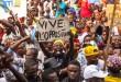 Manifestation de l'opposition, au Congo-Kinshasa, le 31 juillet 2016. CRÉDITS : EDUARDO SOTERAS / AFP
