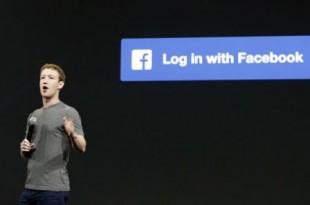 Le PDG de Facebook, Mark Zuckerberg, en 2014 à San Francisco. © Ben Margot/AP/SIPA