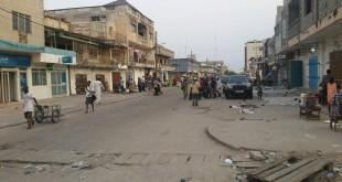Une rue du centre de Cotonou, la capitale béninoise. © RFI/Aurore Lartigue