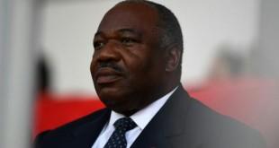 Le président du Gabon Ali Bongo Ondimba à Libreville le 5 février 2017. © AFP/GABRIEL BOUYS