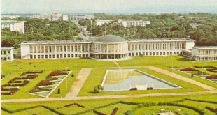 Palais de la nation, à Kinshasa, Bureau du Chef de l'Etat en RDC. © Wikimedia