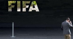 Le siège de la Fifa, à Zurich, en Suisse. © Ennio Leanza/AP/SIPA