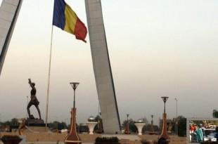 Place de la Nation à N'djamena (Tchad). © Abdoulaye Barry pour JA