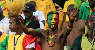 Des supporters maliens lors de la Coupe africaine des nations (CAN) 2017 (photo d'illustration). © RFI/Pierre René-Worms