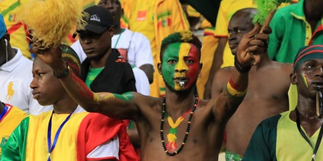 Des supporters maliens lors de la Coupe africaine des nations (CAN) 2017 (photo d'illustration). © RFI/Pierre René-Worms