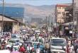 Une rue d'Addis Abeba, le 5 janvier 2008. © SamEffron/CC/Flickr