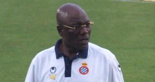 Thomas Nkono fait partie du staff technique de l'Espanyol depuis 14 ans. © Elemaki/CC/Wikimedia commons