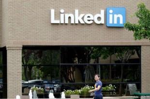 Le quartier général de LinkedIn à Mountain View, en Californie.