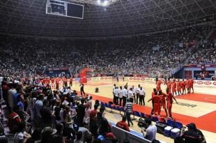 Lors de l'Afrobasket 2015 en Tunisie. Fiba Afrique