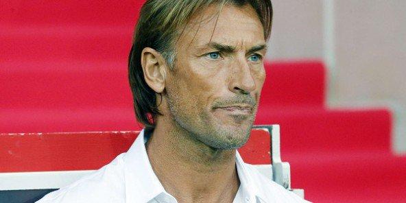 Hervé Renard, entraîneur de la sélection marocaine. © Jacques Brinon/AP/SIPA
