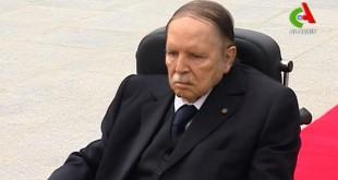 Abdelaziz Bouteflika, ici le 5 juillet 2016, abandonne ses poursuites en diffamation contre le quotidien français «Le Monde». © © Canal / AFP