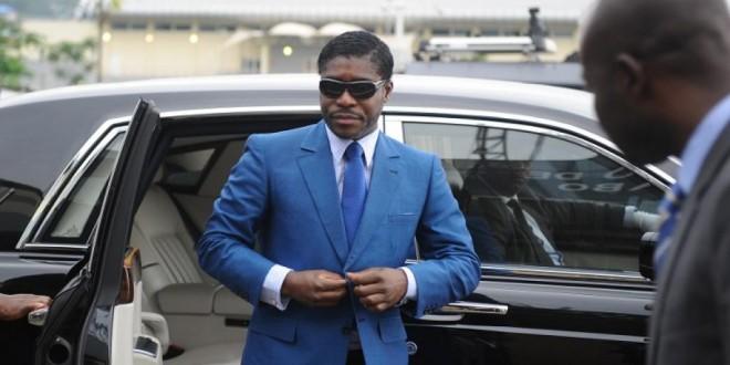 Teodorin Nguema Obiang à Malabo en 2013. © AFP