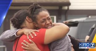 La mort à Seattle de Charleena Lyles, tuée par des tirs de la police, a provoqué une vague d'émotion et une nouvelle polémique sur les violences policières sur fond de racisme anti-noir. Capture d'écran Kiro7