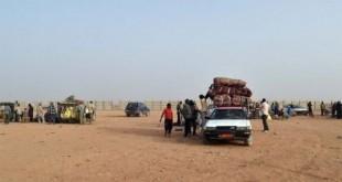 Au nombre de 75 au départ, ces migrants étaient à bord de trois véhicules mais ont été abandonnés par leurs passeurs craignant la répression des forces de sécurité.