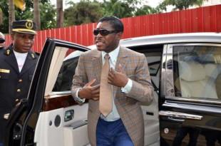 Teodoro Neguema Obiang, à Malabo, le 25 juin 2013. JEROME LEROY / AFP