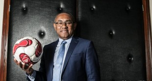 Ahmad Ahmad, actuel président de la CAF