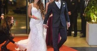 © AFP/EITAN ABRAMOVICH Lionel Messi et sa femme Antonella Roccuzzo se sont rencontrés en 1996.