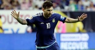 L'attaquant argentin du FC Barcelon, Lionel Messi, 21 juin 2916.