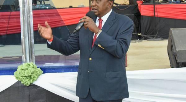 Le président kényan Uhuru Kenyatta |©DR