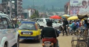 La ville de Bamenda, la capitale anglophone du nord-ouest du Cameroun.  © REINNIER KAZE / AFP