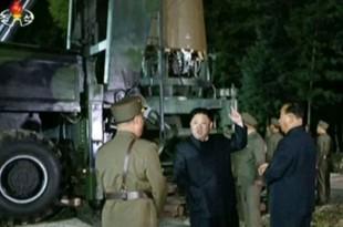 Kim Jong Un, le 28 juillet 2017.