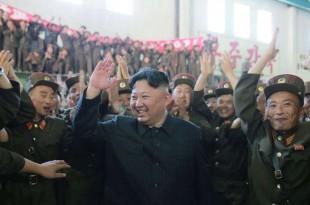 Kim Jong Un, Pyongyang, le 5 juillet 2017.