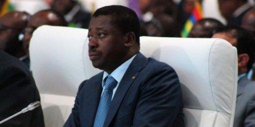 Faure Gnassingbé, le président du Togo, souhaite faire entrer son pays dans le Commonwealth. © AFP
