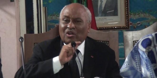 Laurent Esso, ministre camerounais de la Justice.©Droits réservés