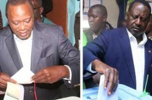 Les résultats officiels de l'élection qui a opposé Uhuru Kenyatta et Raila Odinga sont attendus vendredi 11 août. © Daily Nation