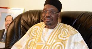 Issa Tchiroma Bakary, le ministre de la Communication du Cameroun. © AFP/Pacome