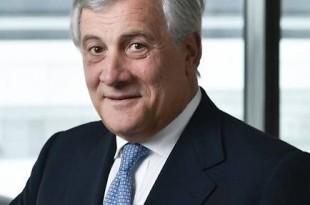 Antonio Tajani, président du Parlement européen, à Paris, le 22 septembre 2017. © REA - pour Le Point