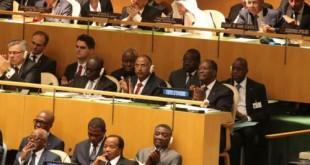 Paul Biya à l'Assemblée générale de l'ONU aux États-Unis