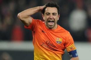 © LLUIS GENE / AFP Le footballeur Xavi gagne 228.000 euros à la loterie au Qatar