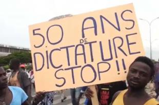 © Matteo Koffi Fraschini, AFP | Manifestation d'opposants dans les rues de Lomé, le 20 septembre 2017.
