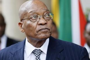 Jacob Zuma semble bien décidé à jouer la montre (photo d'archives). © PHILL MAGAKOE / AFP