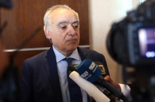 © REUTERS/Zoubeir Souissi L'émissaire spécial de l'ONU pour la Libye Ghassan Salamé, à Tunis le 26 septembre 2017.