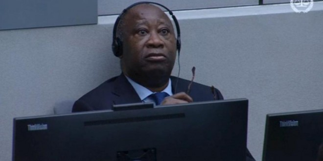 L'ex-président Laurent Gbagbo au premier jour de son procès à la Cour pénale internationale de La Haye, le 28 janvier 2016. © REUTERS/ICC