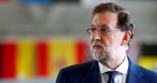 Le Premier ministre espagnol Mariano Rajoy: «On ne peut pas dialoguer avec ceux qui violent la loi et la Constitution». REUTERS/Ints Kalnins