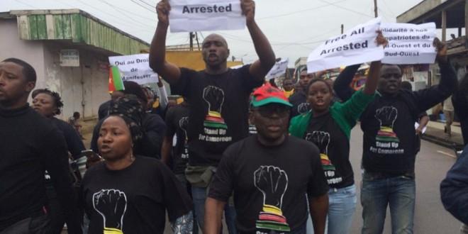 Manifestations de l'opposition du 21 octobre 2017 à Douala