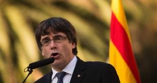 © Fournis par AFP Le leader séparatiste catalan Carles Puigdemont, le 15 octobre 2017