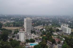 Vue de Kinshasa, capitale de la RDC. © Wikimedia/Moyogo