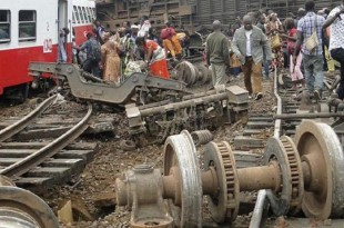 Accident ferroviaire d'Eséka au Cameroun