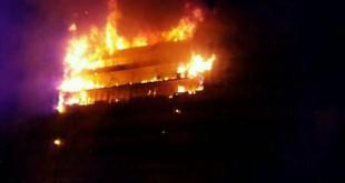 Incendie à l'Assemblée Nationale du Cameroun