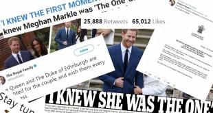 Mariage entre Meghan Markle et le Prince Harry