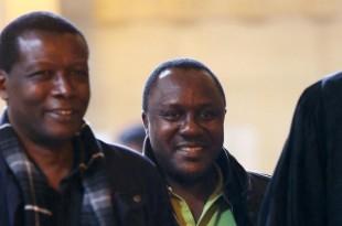 Claude Muhayimana au tribunal de grande instance de Paris, le 13 novembre 2013. © Marion Ruszniewski / AFP