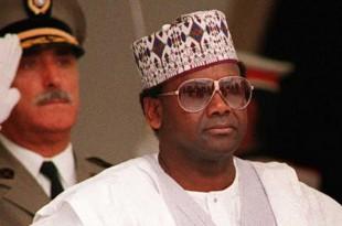 Le général Sani Abacha en juin 1993. © AFP Photo/Fethi Belaid