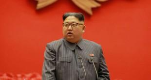 Le leader nord coréen Kim Jong Un